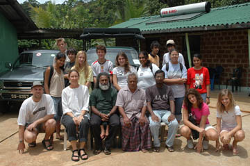 OSC Class of 2007 Group at Sinharaja (May 2006)