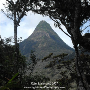 East View of Sri Pada from about 1600meters