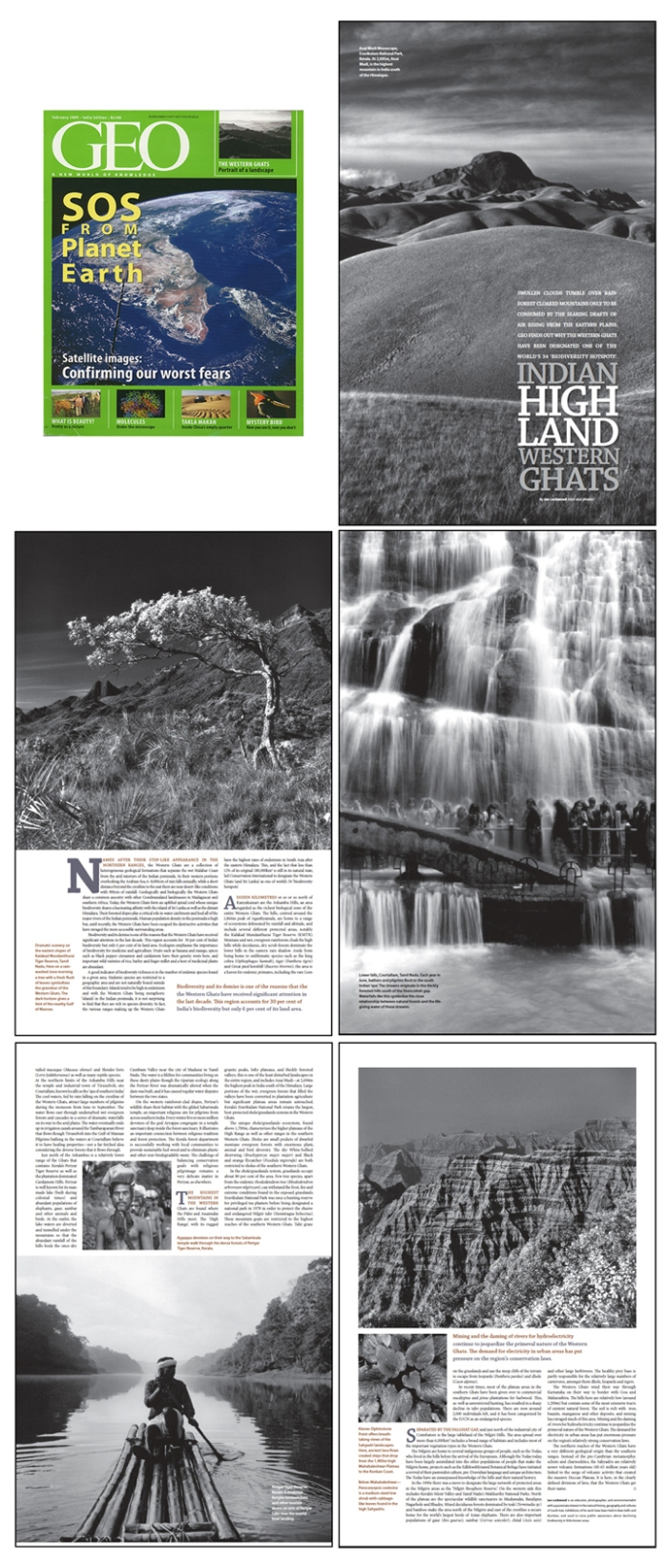 Main Western Ghats article (Geo, February 2009)
