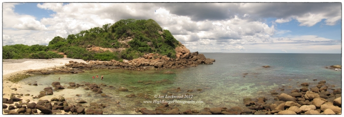 Pigeon Island north beach