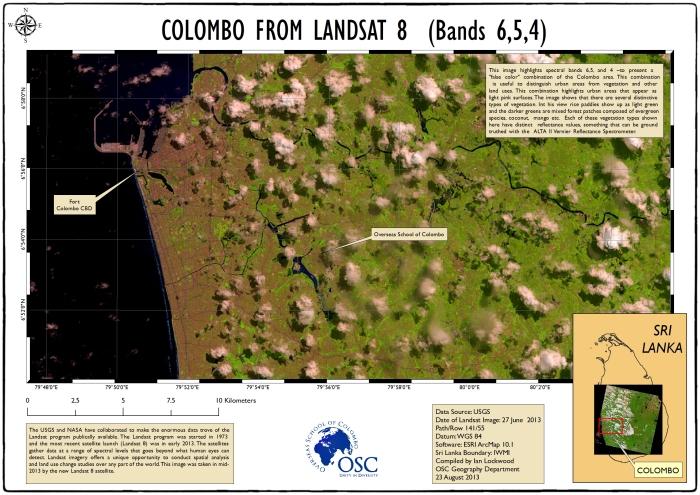 Colombo Landsat #3