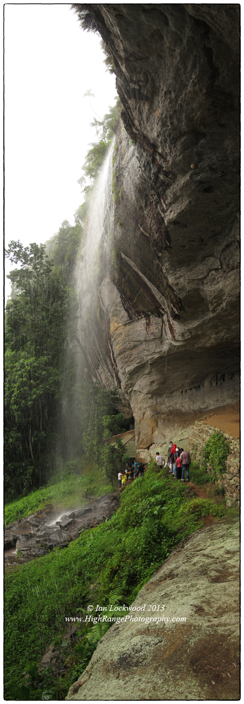 Waterfall on Belilena Cave with OSC students exploring the meaning of knowledge on a monsoon soaked day (taken on IB Orientation 2012).
