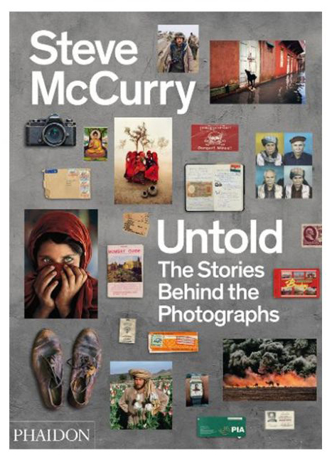 Cover of Steve's McCurry's  Untold: The Stories Behind the Photographs (Phaidon 2013)