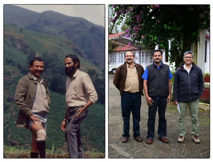 Generations of collaboration between the High Range WIldlofe Preservation Society and the Kerala Forest Department. N Chengappa a& Sivadas  (1994). Mohan, Prasad and Jo Jo ((2014)