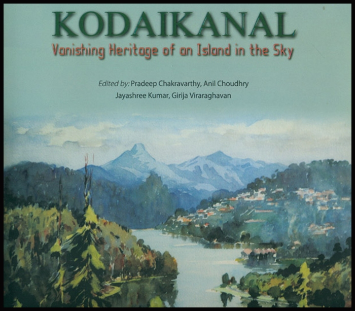 Cover of newsly published book on Kodaikanal featuring a classic lake scene by the great G.D. Paulraj