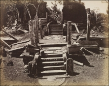 Joseph Lawton's Watadage or Vatagae at Polonnaruwa. Taken @ 1870.