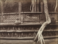 Watadage or Vatagae detail at Polonnaruwa. Taken @ 1870. by Joseph Lawton 1870 (V&A Collection)