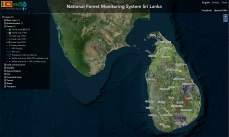REDD+ National Monitoring System for Sri Lanka.