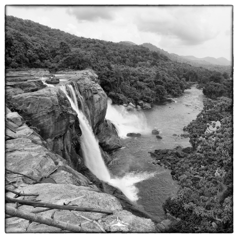 Athirappilly Falls in Kerala. The Chalakudy River drains westwards out of the Anamalai Hills. It is also the site of controversial plans to dam the river for hydroelectric power-a short sighted plan that has civil society up in arms against.